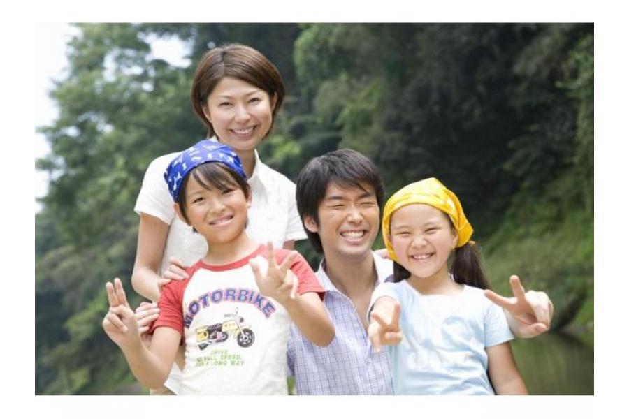 家族写真撮影します